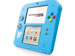 Nintendo 2DS Pokémon Edition: Afbeelding met speelbare characters