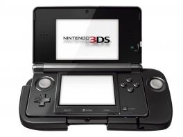 Klik je <a href = https://www.mario3ds.nl/Nintendo-3DS-spel.php?t=Nintendo_3DS>3DS</a>-systeem simpelweg in het accessoire!
