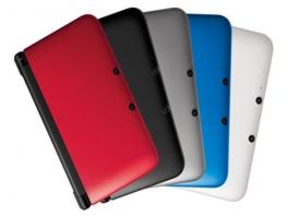 De grotere broer van de <a href = https://www.mario3ds.nl/Nintendo-3DS-spel.php?t=Nintendo_3DS>Nintendo 3DS</a> is er in verschillende kleuren.