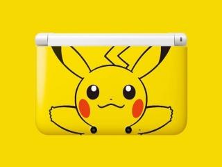 Een speciale Pikachu-uitvoering van de <a href = https://www.mario3ds.nl/Nintendo-3DS-spel.php?t=Nintendo_3DS_XL target = _blank>Nintendo 3DS XL</a>.