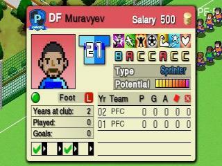 Spelers kopen en verkopen is deel van Nintendo Pocket Football Club.