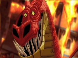 Maak je geen zorgen, de meeste draken zijn banger voor jou dan jij voor hen... zo ook deze.