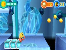 In tegenstelling tot de console-versie is de 3DS-versie een 2D platformer.