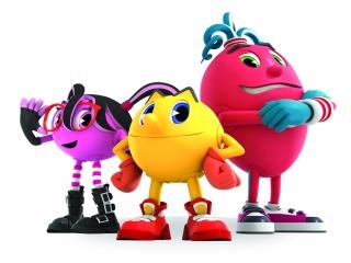 Help Pac-Man en zijn vrienden de spoken te verjagen!