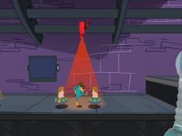 PERRY! Dit is niet het moment om te gaan dansen!