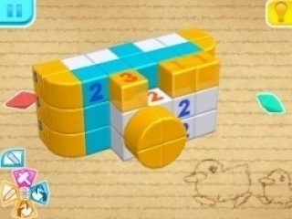 Picross 3D Round 2: Screenshot