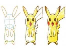 Teken in stappen je lievelings-Pokémon!