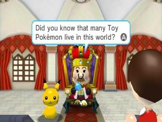 De koning van dit land legt je iets uit over de wereld waarin je leeft.