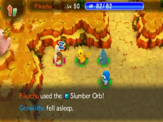 Pokemon Super Mystery Dungeon: Screenshot