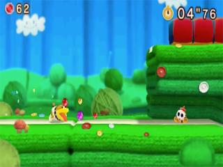 De 3DS-versie heeft unieke nieuwe levels waarin je als Poochy speelt.