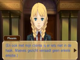 Los verschillende rechtszaken op, met de gameplay van zowel Phoenix Wright als Professor Layton.
