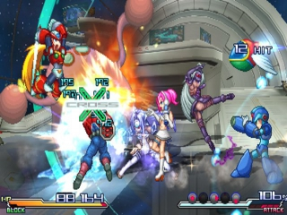 Project X Zone 2: Screenshot