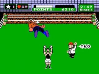 Mario leidt de gevechten in goede banen.