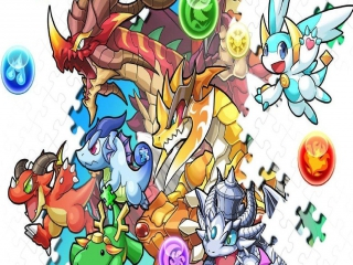 Puzzle & Dragons Z + Puzzle & Dragons: Super Mario Bros. Edition: Afbeelding met speelbare characters