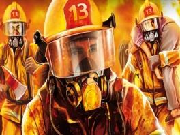 Speel de dappere brandweerman.