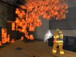 Misschien helpt het om op het vuur te richten...