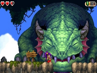 Shantae and the Pirates Curse is een direct vervolg op het DSiWare-spel Risky's Revenge.