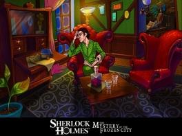 Sherlock zit er even helemaal doorheen...