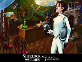 Ook op sportief gebied is Sherlock virtuoos!