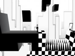 Los puzzels op door te switchen tussen 2D en 3D.