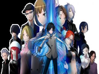 Shin Megami Tensei: Devil Survivor 2 Record Breaker: Afbeelding met speelbare characters