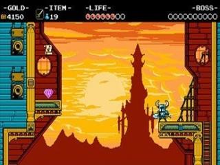 Op vlak van graphics zou Shovel Knight zomaar op de NES kunnen draaien.