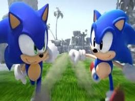 In dit spel kun je als Sonic en Classic Sonic spelen!