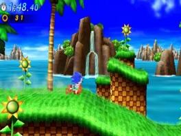 Speel in klassieke levels zoals Green Hill!