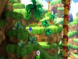 Zet het 3D aan en geniet van de prachtige omgevingen uit de wereld van Sonic!