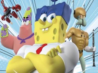 SpongeBob HeroPants: Afbeelding met speelbare characters