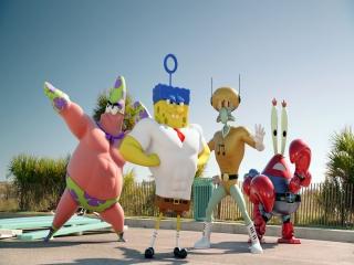 Spongebob en zijn vrienden zitten de laatste tijd nogal veel in de sportschool...