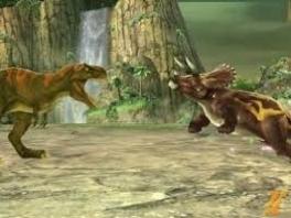 Vechten tegen andere dinosaurussen, daar draait het in deze game allemaal om.
