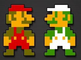 Waar is de tijd dat Mario er nog zo uitzag?