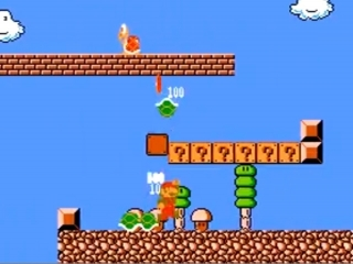 Super Mario Bros The Lost Levels: Screenshot