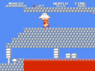 Super Mario Bros The Lost Levels plaatjes