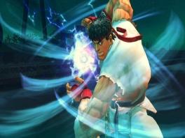 Elke fighter bezit over een eigen speciale aanval. Zoals deze wel bekende 'Hadouken'.