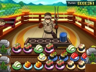 Sushi Striker The Way of Sushido: Screenshot