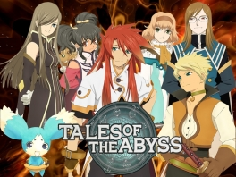 Tear, Anise, Luke, Natalia, Jade, Guy en Mieu, de helden van dit epische verhaal!