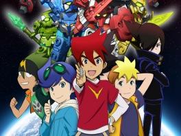Tenkai Knights: Brave Battle: Afbeelding met speelbare characters