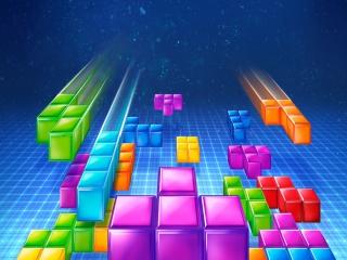 Met in de hoofdrol natuurlijk de gekleurde blokjes!