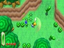 Na lange tijd eindelijk nog eens een Zelda met een top-down view!