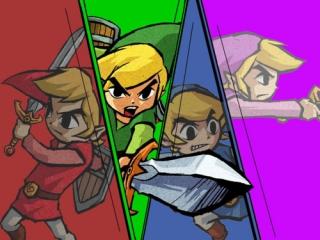 Door het Four Sword wordt de held Link in vier delen gesplitst.