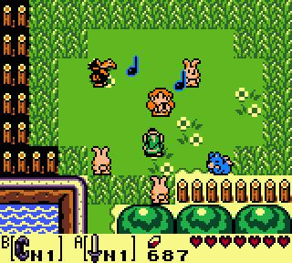 De zangeres Marin helpt Link een handje tijdens het avontuur.