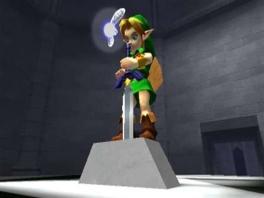 Ga op avontuur met Link en zijn hulpje Navi!