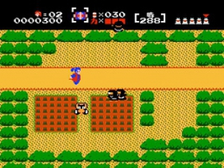 Het lijkt een beetje op de originele Zelda, maar dan met Samoerai.