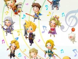 Speel als schattige, cartoony versies van je favoriete Final Fantasy-karakters, zoals Cloud!