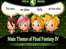 Geniet van de prachtige soundtrack uit de Final Fantasy-serie.