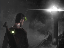 In Splinter Cell 3D speel je als super spion Sam Fisher.