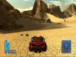 Deze game bevat zowel vecht- als race-actie.