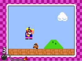 Heel het spel draait om Mario, euh, ik bedoel Wario.